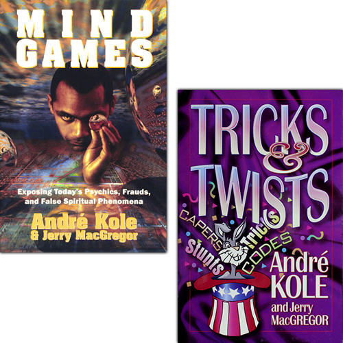 Mind Games and Tricks & Twists book combo