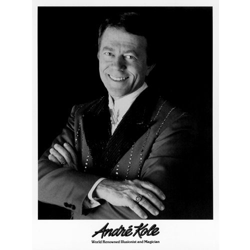 Andre Kole Photo 8x10 B&W