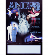 Andre Kole collector's show poster